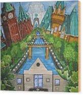 Custom Home Interiors - Ottawa Landmarks Wood Print