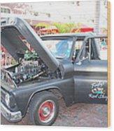 Custom Pickup Truck Wood Print