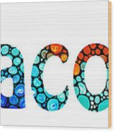 Customized Baby Kids Adults Pets Names - Jacob 2 Name Wood Print