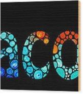 Customized Baby Kids Adults Pets Names - Jacob 3 Name Wood Print