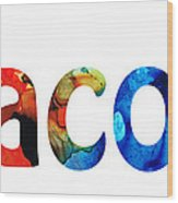 Customized Baby Kids Adults Pets Names - Jacob 5 Name Wood Print