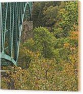 Cut River Bridge 1 A Wood Print