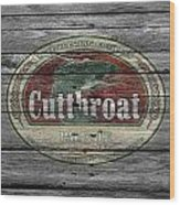 Cutthroat Pale Ale Wood Print