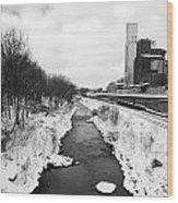 Cuyahoga River Wood Print