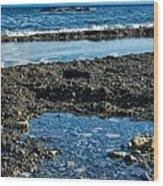 Cuzco Beach 7 Wood Print