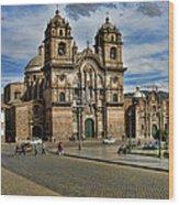 Cuzco Church Wood Print
