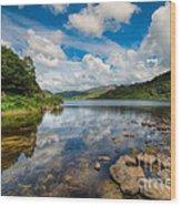 Cwellyn Lake Wales Wood Print