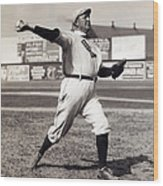 Cy Young - American League Pitching Superstar - 1908 Wood Print