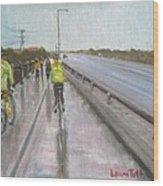 Cycle Club Wood Print