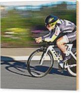 Cycling Prologue Wood Print