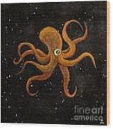 Cycloptopus Black Wood Print