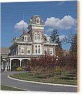 Cylburn Mansion Wood Print