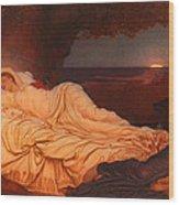 Cymon And Iphigenia Wood Print