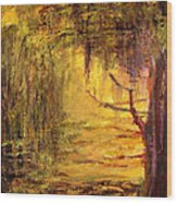 Cypress Wood Print