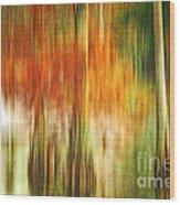 Cypress Pond Wood Print by Scott Pellegrin