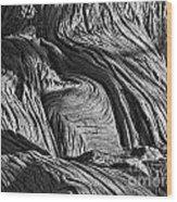 Cypress Tree Abstract Wood Print