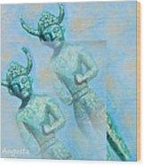 Cyprus Gods Of Trade. Wood Print by Augusta Stylianou