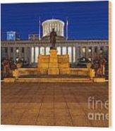 D13l112 Ohio Statehouse Photo Wood Print