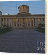D13l83 Ohio Statehouse Photo Wood Print