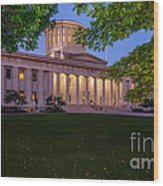 D13l94 Ohio Statehouse Photo Wood Print