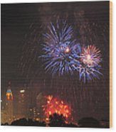 D21l163 Red White And Boom Photo Wood Print