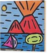 da Posillipo - America's Cup Wood Print