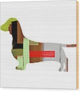 Dachshund Wood Print