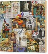 Dada Movement 1916  To 1922 Wood Print