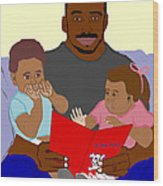 Daddy's Bundles Wood Print