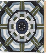 Daddy's Denims Quilt Wood Print