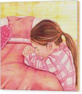 Daddy's Girl Wood Print by Jeanette Sthamann