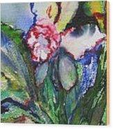Daffodil 6 Wood Print