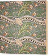 Daffodil Chintz Wood Print
