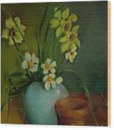 Daffodils                   Copyrighted Wood Print