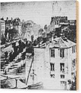 Daguerreotype, 1838 Wood Print