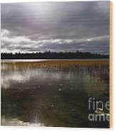 Dahler Lake In Emily Minnesota Wood Print