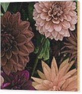 Dahlia Heaven Wood Print