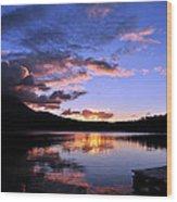 Daicey Pond Sunrise II Wood Print