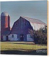 Dairy Barn Wood Print