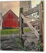 Dairy Wood Print