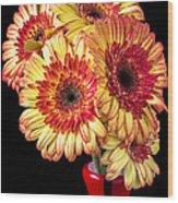 Daisy Bouquet Wood Print