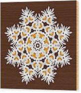 Daisy Mandala  12t Wood Print