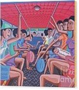 Dalawa Nalang Aalis Na Wood Print