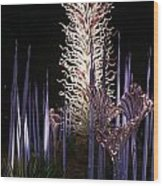 Dale Chihuly Glass Art Wood Print