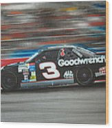 Dale Earnhardt Goodwrench Chevrolet Wood Print