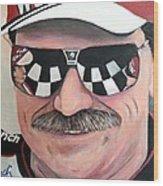 Dale Earnhardt Sr Wood Print