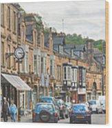 Dale Road - Matlock Wood Print
