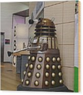 Dalek At The Bbc 2 Wood Print