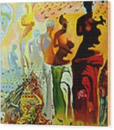 Dali Oil Painting Reproduction - The Hallucinogenic Toreador Wood Print