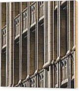 Dallas Architecture Wood Print